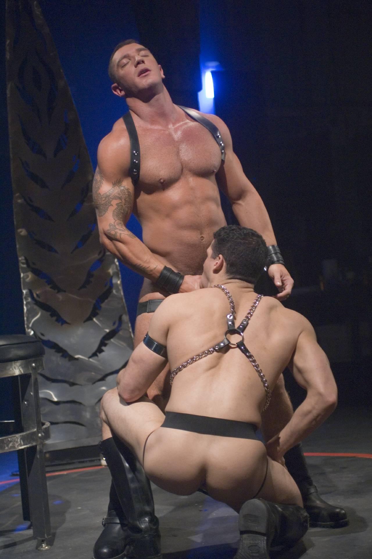 Gay hardcore raging stallion massive blac