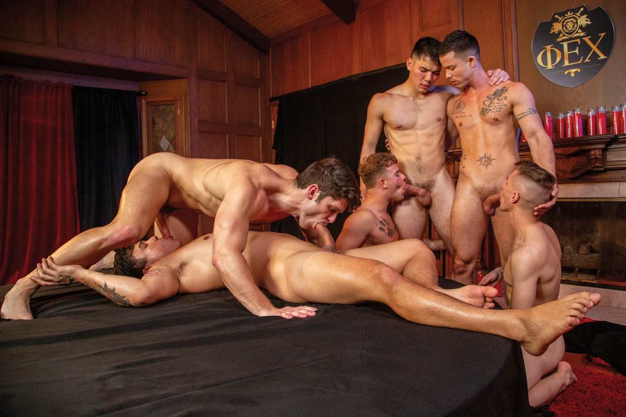 Falcon studios orgy group
