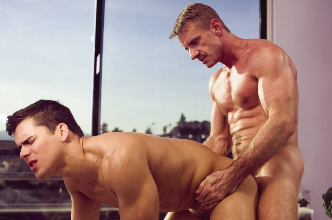 Roman And Gregor Outdoor Banging