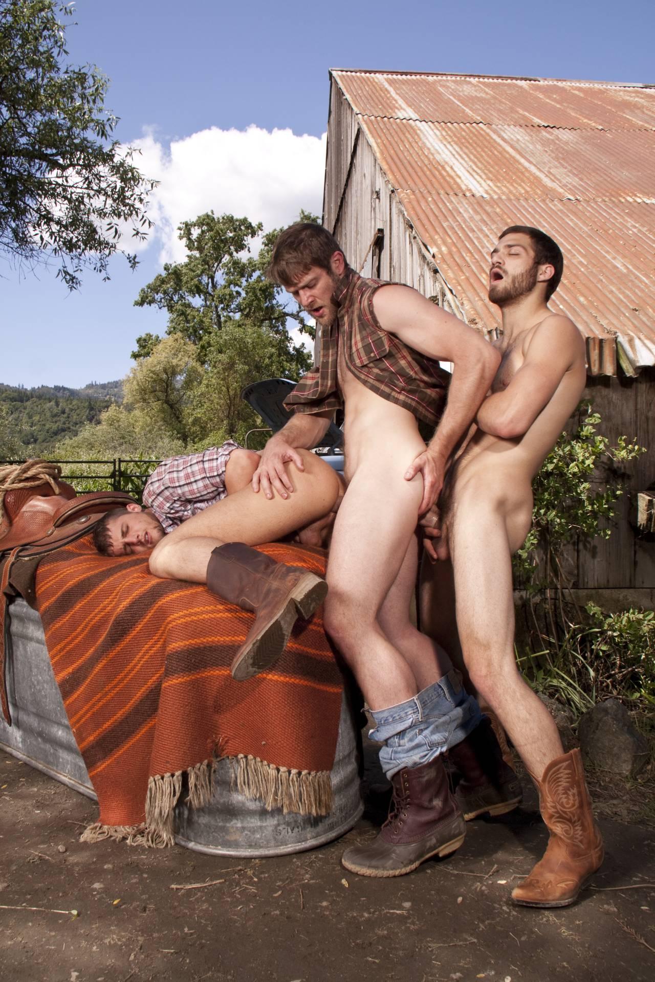 Порно фото ковбои 18 фотография